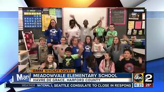 Meadowvale Elementary School says good morning! - Video
