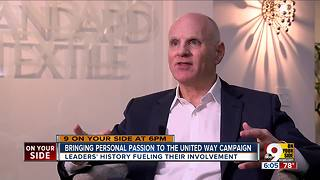 Bringing personal passion to United Way campaign - Video