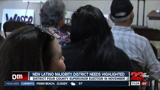 New Latino majority district 4 voters hold town hall discussion - Video