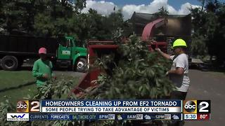BBB warns that contractors could be scamming tornado victims - Video