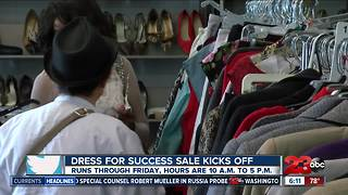 Dress for Success Sale Begins