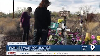 Families wait for justice as Pima County Attorney's weighs options for safe jury trials