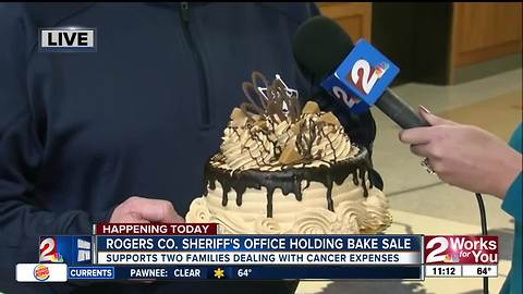 Bake sale to support law enforcement battling cancer in Rogers County