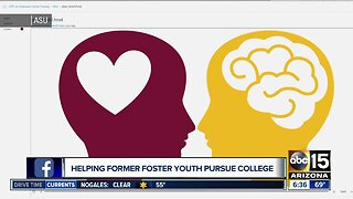 Helping former foster youth pursue college