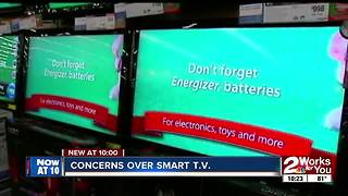 Concerns over smart TVs - Video