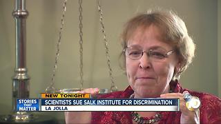 Scientists sue Salk Institute for gender discrimination - Video