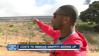 Costs to clean graffiti add up - Video