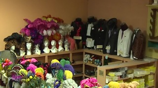 Famous Las Vegas costume shop selling everything - Video