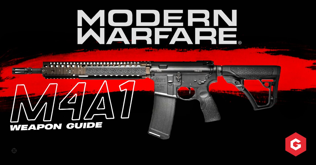 Modern Warfare: M4A1 Setup And Best Attachments For Your Class
