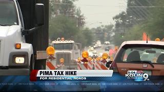 Pima County raises property taxes for roads - Video