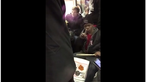 Youngsters' Impromptu Performance On NYC Train Leaves Everyone Surprised