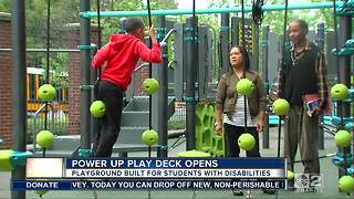 State-of-the-art playground opens for kids with disabilities in Baltimore - Video