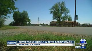 Suspect in fatal Adams County hit-and-run of 2-year-old comes forward - Video