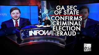 Bombshell: Georgia Secretary of State Confirms Criminal Election Fraud and More!