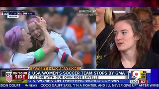 U.S. Women's National Team on GMA