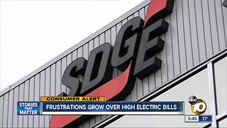 San Diegans stuck with huge power bills - Video