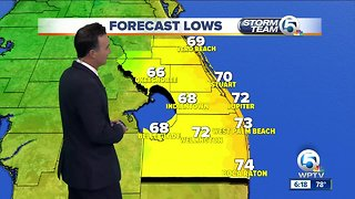 South Florida weather 11/3/18 - 6pm report