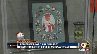 Help build playground memorial for Superbubz - Video