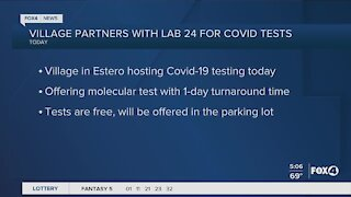Covid testing in Southwest Florida