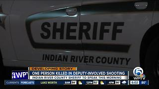Indian River County deputy fatally shoot man - Video