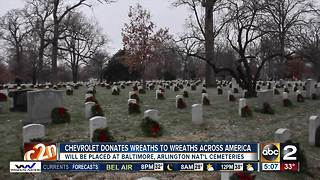 Chevrolet supporting Wreaths Across America - Video