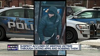 Police release picture of robber using dating app to find victims