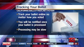 How to track your ballot this election