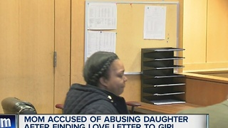Mom accused of abusing daughter after love letter to girl - Video