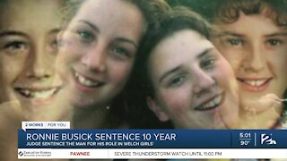 Judge sentences suspect in missing Welch girls case to 10 years in prison