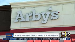 Arby's store offering free food in Phoenix - Video