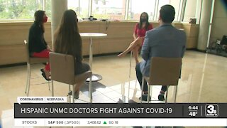 Hispanic UNMC doctors fight against COVID-19