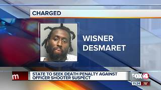 Death penalty to be sought for accused officer shooter