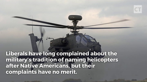Honor, Not Racism, Behind Military Copter Names
