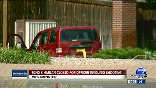 Westminster police investigating officer-involved shooting - Video