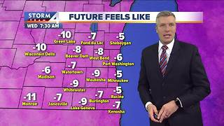 Single digit temperatures tonight - Video