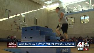 KCPD puts potential officers to the test - Video