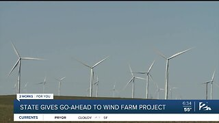 State Gives Go-Ahead To Wind Farm Project