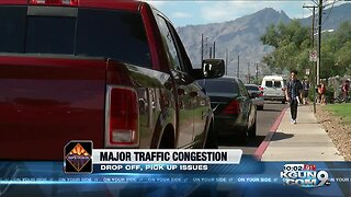Major traffic issues at Tucson schools are causing safety concerns