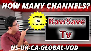 RAWSAVE LIVE TV CHANNELS ON FIRESTICK TOP TV APP FOR ANDROID BEST IPTV