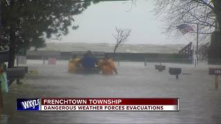 Monroe County residents forced to evacuate due to flooding