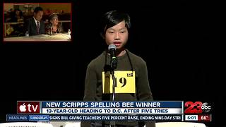 This 13-year-old is going to the Scripps National Spelling Bee - Video