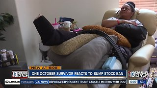 1 October survivor reacts to bump stock ban