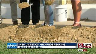 Burke High School groundbreaking