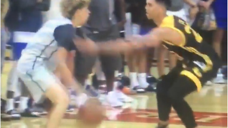 "LaMelo Ball BLASTED for ""Ballhogging"" in 52-point Blowout Loss in AAU Game - Video"