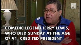 Jerry Lewis Heeded Advise JFK Gave Him About Mixing Politics And Entertainment