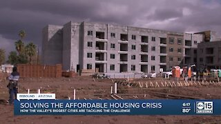 How are the Valley's largest cities addressing the housing shortage?