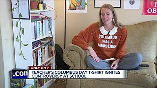 Teacher's Columbus Day t-shirt ignites controversy at school