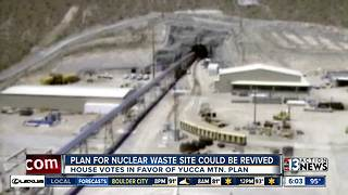 Yucca Mountain nuclear waste plan could be revived - Video