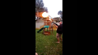 Who's Got A Flame Thrower? We Got A Flame Thrower!! AMERICA!!
