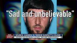 Source: Kadirov is terror suspect's cousin